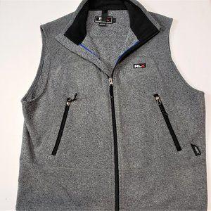 RLX Polo Sport Men's Fleece Zippered Vest Size L
